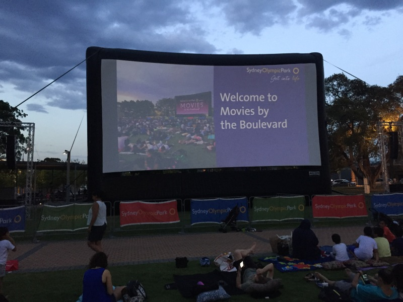 Movies By The Boulevard Cathy Freeman Park Sydney Olympic
